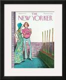 The New Yorker Cover - June 16, 1975 Framed Giclee Print by Charles Saxon