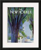 The New Yorker Cover - August 30, 1969 Framed Giclee Print by Arthur Getz