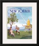 The New Yorker Cover - June 29, 1992 Framed Giclee Print by Pamela Paparone