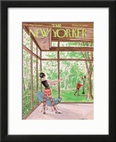 The New Yorker Cover - May 20, 1967 Framed Giclee Print by Charles Saxon
