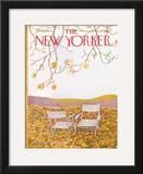 The New Yorker Cover - October 17, 1964 Framed Giclee Print by Ilonka Karasz