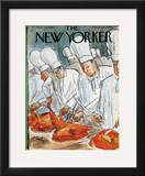 The New Yorker Cover - November 28, 1964 Framed Giclee Print by Perry Barlow