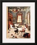 The New Yorker Cover - March 1, 1958 Framed Giclee Print by Mary Petty