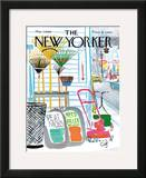 The New Yorker Cover - May 7, 1966 Framed Giclee Print by Arthur Getz