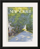 The New Yorker Cover - June 21, 1976 Framed Giclee Print by Arthur Getz