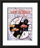 The New Yorker Cover - August 20, 1990 Framed Giclee Print by Kathy Osborn