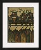 The New Yorker Cover - February 18, 1967 Framed Giclee Print by Andre Francois