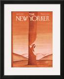 The New Yorker Cover - April 11, 1970 Framed Giclee Print by Jean Michel Folon