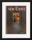The New Yorker Cover - October 28, 1967 Framed Giclee Print by Abe Birnbaum