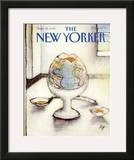 The New Yorker Cover - September 25, 1989 Framed Giclee Print by Andre Francois