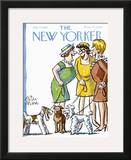 The New Yorker Cover - July 22, 1967 Framed Giclee Print by Peter Arno