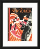 The New Yorker Cover - February 6, 1926 Framed Giclee Print by Victor Bobritsky