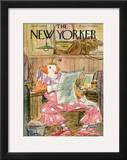 The New Yorker Cover - April 15, 1950 Framed Giclee Print by Perry Barlow