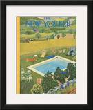 The New Yorker Cover - August 10, 1946 Framed Giclee Print by Ilonka Karasz