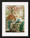 The New Yorker Cover - November 16, 1946 Framed Giclee Print by Julian de Miskey