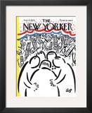 The New Yorker Cover - August 22, 1964 Framed Giclee Print by Abe Birnbaum