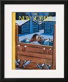The New Yorker Cover - November 27, 1948 Framed Giclee Print by Peter Arno