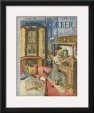 The New Yorker Cover - September 12, 1953 Framed Giclee Print by Mary Petty