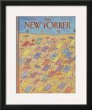 The New Yorker Cover - August 16, 1982 Framed Giclee Print by Lonni Sue Johnson