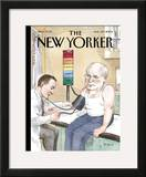 The New Yorker Cover - August 30, 2004 Framed Giclee Print by Barry Blitt