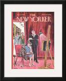 The New Yorker Cover - March 29, 1969 Framed Giclee Print by Charles Saxon