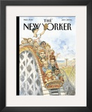 The New Yorker Cover - July 1, 2002 Framed Giclee Print by Peter de S&#232;ve