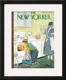 The New Yorker Cover - November 24, 1951 Framed Giclee Print by Perry Barlow