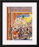The New Yorker Cover - December 9, 1933 Framed Giclee Print by Ilonka Karasz