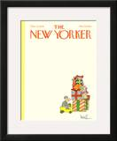 The New Yorker Cover - December 11, 1978 Framed Giclee Print by Arnie Levin