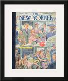 The New Yorker Cover - September 7, 1940 Framed Giclee Print by Perry Barlow