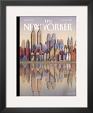 The New Yorker Cover - September 15, 2003 Framed Giclee Print by G&#252;rb&#252;z Dogan Eksioglu