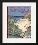 The New Yorker Cover - June 26, 1943 Framed Giclee Print by Rea Irvin