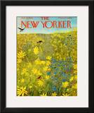 The New Yorker Cover - July 18, 1964 Framed Giclee Print by Ilonka Karasz