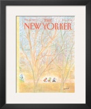 The New Yorker Cover - December 5, 1983 Framed Giclee Print by Jean-Jacques Sempé