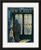 The New Yorker Cover - December 1, 1962 Framed Giclee Print by Arthur Getz
