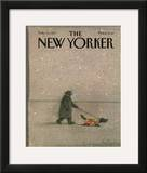 The New Yorker Cover - February 16, 1987 Framed Giclee Print by Eugène Mihaesco