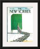 The New Yorker Cover - November 2, 1968 Framed Giclee Print by Arthur Getz
