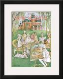 The New Yorker Cover - July 31, 1948 Framed Giclee Print by Mary Petty
