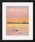 The New Yorker Cover - June 16, 1986 Framed Giclee Print by Susan Davis