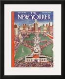 The New Yorker Cover - April 28, 1934 Framed Giclee Print by Ilonka Karasz
