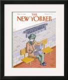 The New Yorker Cover - October 17, 1988 Framed Giclee Print by Kathy Osborn