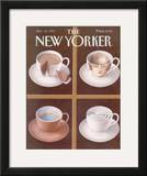 The New Yorker Cover - January 18, 1993 Framed Giclee Print by Gürbüz Dogan Eksioglu