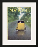 The New Yorker Cover - January 10, 1959 Framed Giclee Print by Garrett Price