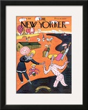 The New Yorker Cover - August 4, 1928 Framed Giclee Print by Julian de Miskey