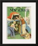 The New Yorker Cover - August 24, 1946 Framed Giclee Print by William Cotton
