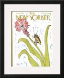 The New Yorker Cover - August 20, 1966 Framed Giclee Print by William Steig