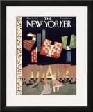 The New Yorker Cover - December 12, 1942 Framed Giclee Print by Christina Malman