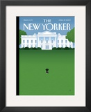 The New Yorker Cover - April 27, 2009 Framed Giclee Print by Bob Staake