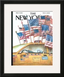 The New Yorker Cover - November 5, 2001 Framed Giclee Print by Carter Goodrich