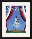 The New Yorker Cover - April 2, 2001 Framed Giclee Print by Mark Ulriksen